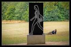 Watching the world go by (MikeJDavis) Tags: julianopie ysp yorkshiresculpturepark