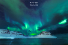 Kirkjufell (JoshuaSYChang) Tags: nikon d850 nature arctic night sea iceland blue water ice landscape snow winter auroraborealis coldtemperature outdoors dark scenics sky backgrounds rockobject nopeople