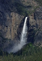 Bridalveil Falls / Yosemite National Park (Ron Wolf) Tags: nationalpark sierra yosemitenationalpark yosemitevalley canyon creek landscape montane nature waterfall california