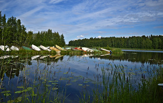 Choose your own boat! 😊 Sysmä. Finland, Summer
