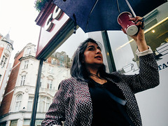 20180809T15-48-49Z-P8090092 (fitzrovialitter) Tags: wet rain cloudy umbrella girl portrait streetportrait candid peterfoster fitzrovialitter city camden westminster streets rubbish litter dumping flytipping trash garbage urban street environment london fitzrovia streetphotography documentary authenticstreet reportage photojournalism editorial captureone olympusem1markii mzuiko 1240mmpro microfourthirds mft m43 μ43 μft geotagged oitrack