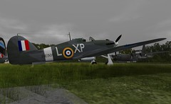"early and  late RAF Camo Hurricanes (Jenny ""Oxymoron"" D) Tags: hawker hurricane raf vintage aviation ww2 slaviation firestorm aircraft"