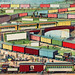 Zig-zag Passenger and Freight Train by an unknown artist. Original from Library of Congress. Digitally enhanced by rawpixel.