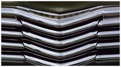 Chrome. Sugarcreek, OH (bobchesarek) Tags: chevrolet grill chrome carshow custom hotrod vintage