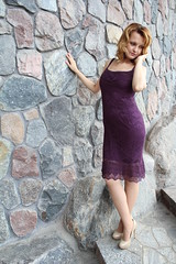 IMG_2101 (@vip_hand_knitting) Tags: dress summer knitting handknitted lase lilac knitted handiwork silk