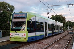 2539 Therapia Lane (charliejohnson19) Tags: london trams tram croydon tramlink bombardier transportation bws flexity swift cr4000 bautzen vienna vossloh kiepe film photography canon eos 300 colour negative c41