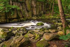 Harz/Bode (Uwe Weigel) Tags: landscape river harz water wasser felsen rock natur nature flus germany naturfotografie landscapephotography green bode bodetal earth nice trip travel