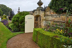 Seaton Delaval Hall - way to woodland walk (neilgcart) Tags: seatonsluice england unitedkingdom gb architecture building europe hall historicalbuilding nationaltrust northumberland seatondelavalhall worldregionscountries gardens landscape 2018leamside events holiday people social