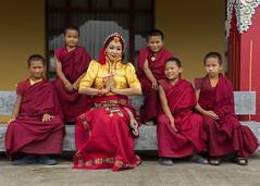 (Tenzin Samphel) Tags: singer norgayhandicrafts monks smile red tibetansinger chupa womanwear womanstyle actress newyork tenzinsamphelphotography covershoot photoshoot tibetanclothing photooftheday kathmandu nepal
