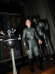 Grand Moff Tarkin with Death Star Droids Star Wars 4056 (Brechtbug) Tags: peter cushing grand moff tarkin with death star droid k2so or kaytuesso interrogation wars action figure toy toys villain villains 1964 1960s 60s 1977 1970s 70s movie film science fiction scifi spy adventure hot forbidden planet comics store nyc 2018 comicbook rogue one a new hope whiffin