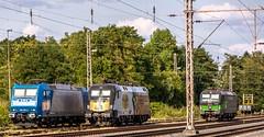 01_2018_08_04_Wanne-Eickel_Üwf_6185_529_ATLU_ES_64_U2_-_023_6182_523_DISPO_6193_722_ELOC_TXL (ruhrpott.sprinter) Tags: ruhrpott sprinter deutschland germany allmangne nrw ruhrgebiet gelsenkirchen lokomotive locomotives eisenbahn railroad rail zug train reisezug passenger güter cargo freight fret herne wanne eickel wanneeickel üwf atlu vectron siemens 6182 6185 6193 es 64 u2 es64u2 mrcedispo mrcedispolok mrce dispo stellwerk stellwerküwf txl txlogistik kaiser franz outdoor logo natur werbung