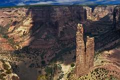 Spider Rock, Canyon de Chelly (www.bestphotoedition.com) Tags: canyon cañon paisaje montaña landscape spiderrock canyondechelly arizona eeuu unitedstates usa arenisca sandstone