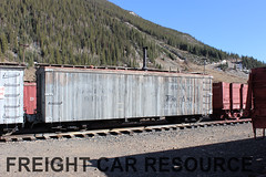 DRGW 04417 (Freight Car Resource) Tags: denverriograndewestern riogrande narrowgauge freightcar 3footgauge drgw drg denverriogrande train railroad railway boxcar maintenanceofway mow
