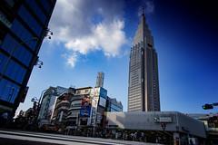 The NTT Docomo Building, Tokyo (El-Branden Brazil) Tags: japan japanese shinjuku tokyo yoyogi nttbuilding docomobuilding skyscraper urban cityscape tower asia asian
