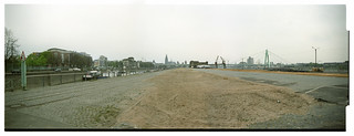 Rheinauhafen Köln, the Peninsula - 2002 looking north towards the center