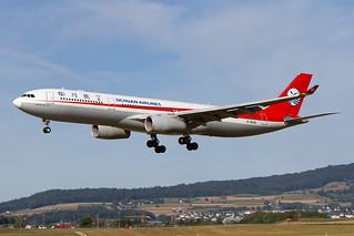 B-8589, Airbus A330-343, Sichuan Airlines@ ZRH Kloten Airport