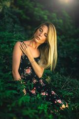 Malou. (FlorianPascual) Tags: ifttt 500px dress summer meadow sundress beautiful people beauty long hair pretty park strolling fujioka fair weather