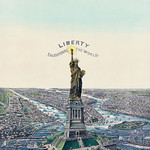 The Great Bartholdi Statue, Liberty Enlightening the World, published by Currier & Ives. Original from Library of Congress. Digitally enhanced by rawpixel. thumbnail