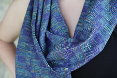Silk crackle weave-03966.jpg (kindred threads) Tags: blue crackleweave silk