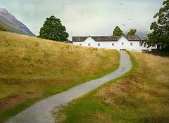 Near Grasmere Village (vesna1962) Tags: scenery landscape path winding cottages hill mountain textured grasmere lakedistrict cumbria england