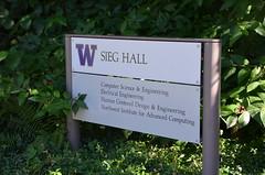Sieg Hall (afagen) Tags: seattle washingtonstate universitydistrict universityofwashington campus sieghall sign