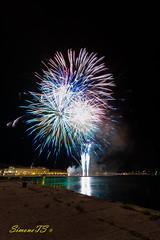 fuochi (SimoneTS) Tags: fuochidartificio ferragosto trieste rive italia italy molo4 moloiv triest firework fireworks