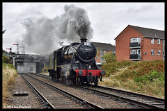 No 48624 (48476) 12th Aug 2018 Great Central Railway End of BR Steam Gala (Ian Sharman 1963) Tags: no 48624 48476 12th aug 2018 great central railway end br steam gala class 8f 280 station engine rail railways train trains loco locomotive passenger heritage line loughborough leicester north gcr