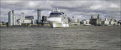 Departing Eclipse (Elaine 55.) Tags: rivermersey seacombe wallasey liverpool waterfront