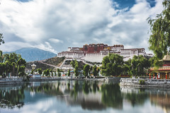 Stunning Potala Palace (little_stephy0925) Tags: fujifilm fuji fujifilmxh1 fujixh1 xh1 fujinonxf1655mm xf1655mm xf1655 classicchrome mirrorlesscamera longexposure longexposureshot cityscape landscape landscapeshot china tibet lhasa journeytotibet potalapalace palace architecture architecturehunter reflection explorechina beautifulchina