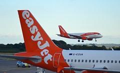 Easyjet G-EZGR - Airbus A319 (G-RJXI) Tags: easyjet gezgr airbus a319 bristol airport
