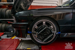 BMW E30 M3 RAYS Te37 OG - Alignment (crownautony) Tags: bmw e30 m3 rays te37 og alignment