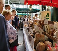 Karaway Bakery in Borough Market (Alan Stanton) Tags: foodstall boroughmarket southwark bankside gentrification foodie tourism foodiehaven