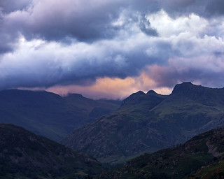 Dramatic Sunset at Loughrigg Fell, Lake District