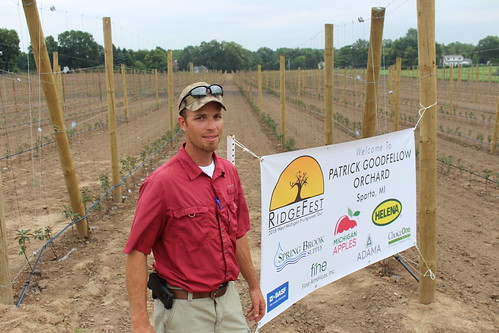 Patrick Goodfellow of Patrick Goodfellow Orchards
