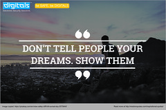 Have a high dream, Have Dare to show other!! (saksham26) Tags: motivationalquote saturdaymotivation saturdaymorning newdelhi noida cctv proudlyindian disppl