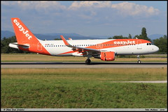 AIRBUS A320 214 easyJet HB-JXJ 7772 Bale Mulhouse juin 2018 (paulschaller67) Tags: airbus a320 214 easyjet hbjxj 7772 bale mulhouse juin 2018