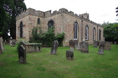 Saint Mary Magdalene Church, Yarm, North Yorkshire, England (tosh123) Tags: architecture arch church yarm northyorkshire graves graveyard headstones