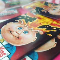 garbage pail kids (DeanaClarkson...JMC) Tags: gpk garbage pail kids garbagepailkids color cabbagepatchkids cabbage patch kid cards card toy sticker funny