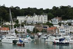 St. Aubin, Jersey, Channel Islands (Monceau) Tags: staubin jersey channelislands harbour harbor buildings architecture