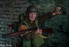 Blaenavon-48 (Andy..D) Tags: defenceofblaenavon blaenavon wales british army tommy bef soldier helmet 303 enfield portrait