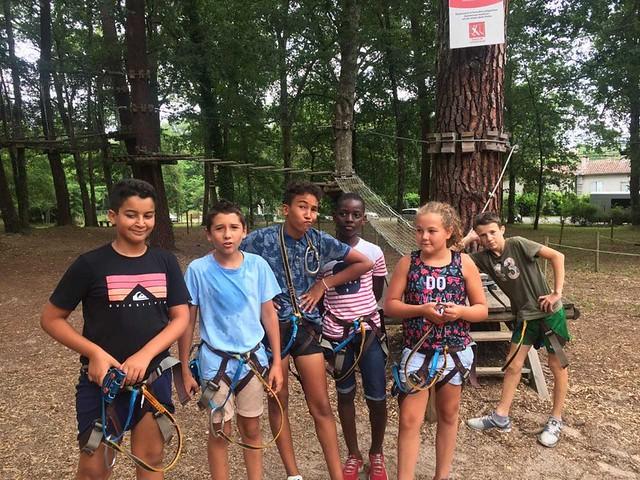 Vacances d'été avec le service jeunesse