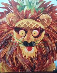 Texture Tuesdays ... (Mr. Happy Face - Peace :)) Tags: foodart2018 lion art bacon fruit waffle makemesmile funpic funny roar eyes nose ears whiskers chuckle brunch raspberry blackberry rashes lemon green onions carrot pinapple happytexturetuesdays king chef creativity lionking theme 7dwf wtbw pancake biteme hunger ate yummy fun htt imagination eatme arcimboldo