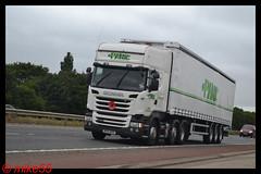 Scania R450 'Panic' reg BV15 RHY (erfmike51) Tags: scaniar450 truck artic curtainside euro6 lorry panic