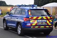 Gendarmerie Nationale (rescue3000) Tags: skoda škoda kodiaq gendarmerie nationale national véhicule commandement command vehicle stva officiel tourdefrance tour france étape8 étape voiture army armée militaire military official