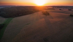 Sunset (free3yourmind) Tags: sunset moody sky sun fields above aerial drone quadcopter xiaomi mi minsk belarus nature