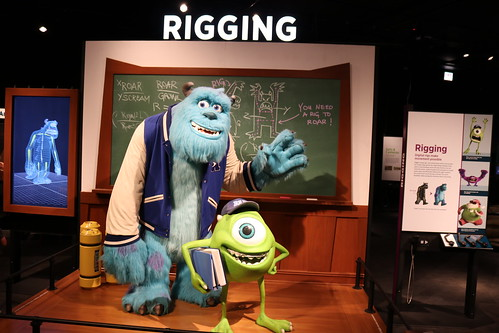 "Mike and Sully from Monsters University - The Science Behind Pixar • <a style=""font-size:0.8em;"" href=""http://www.flickr.com/photos/28558260@N04/43840139522/"" target=""_blank"">View on Flickr</a>"
