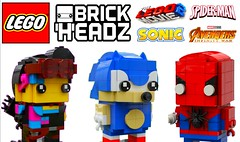 Amazing Custom Lego Brickheadz !!! (afro_man_news) Tags: lego brickheadz custom moc popeye avengers infinity war characters spiderman all winter soldier bucky barnes ariel little mermaid harry potter rubeus hagrid mickey mouse superman clark kent dc batman scarlet witch movie 2 the second part sonic hedgehog super mario bowser tintin firestorm inside out christopher robin winnie pooh new fake
