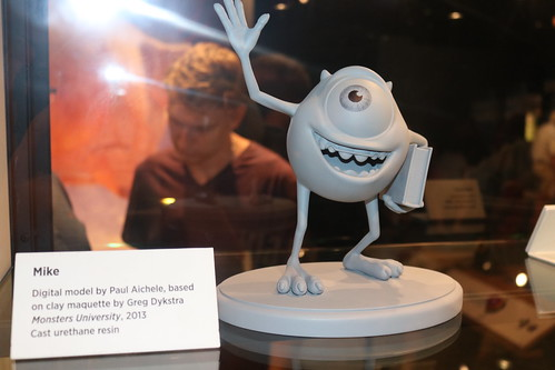 """Mike Maquette from Monsters University - The Science Behind Pixar • <a style=""""font-size:0.8em;"""" href=""""http://www.flickr.com/photos/28558260@N04/43882278981/"""" target=""""_blank"""">View on Flickr</a>"""
