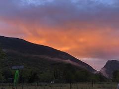 fire in the sky of Tzoumerka (Christophe Rose) Tags: christopherose christophe rosé flickr greece grèce tzoumerka épire epirus iphone iphone8 rouge feu fire red kayak sunset coucherdesoleil