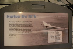 NASM_0291 Horten Ho III h flying wing sailplane (kurtsj00) Tags: nationalairandspacemuseum nasm smithsonian udvarhazy horten ho iii h flying wing sailplane